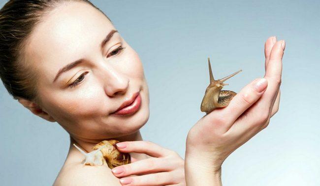 Слизь улитки - чудо-средство для вашей красоты!